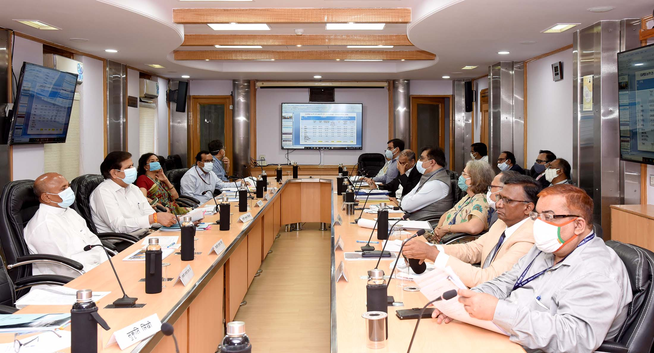 Union Steel Minister Reviews Capital Expenditure (CAPEX) of Steel CPSEs
