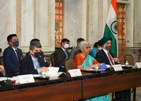 8th ministerial meeting of India-U.S.A. Economic & Financial Partnership Dialogue held in Washington D.C.