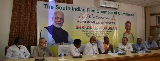 Centre is committed to Ease of Doing Business in Film Industry, says Union MoS Dr. L. Murugan