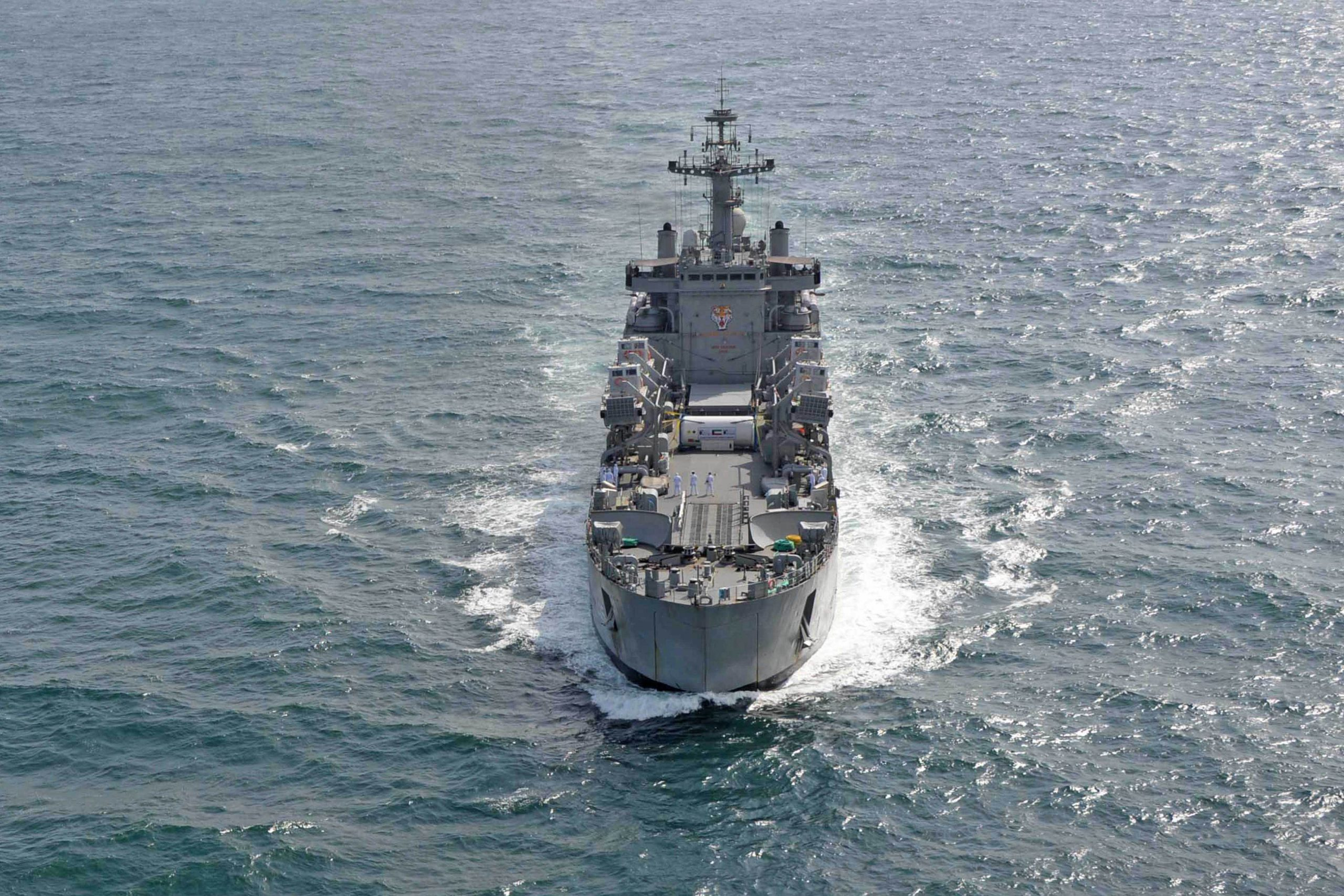 INDIAN NAVY'S FIRST TRAINING SQUADRON (1TS) VISIT TO SRI LANKA