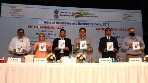 Insolvency and Bankruptcy Board of India celebrates Fifth Annual Day