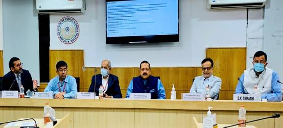Integrated Capacity Building through integrated training is the need of the hour as the era of working in silos is over: Dr Jitendra Singh