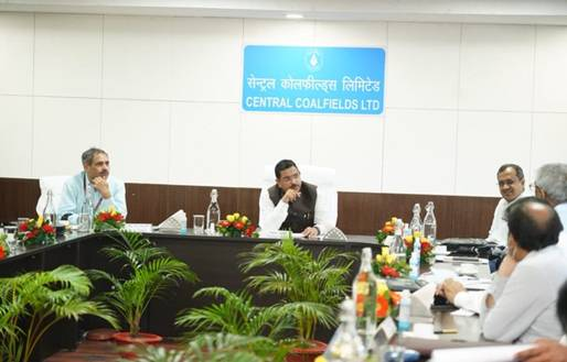 Shri Pralhad Joshi Reviews Coal Production and Supply at CCL and BCCL, Ranchi