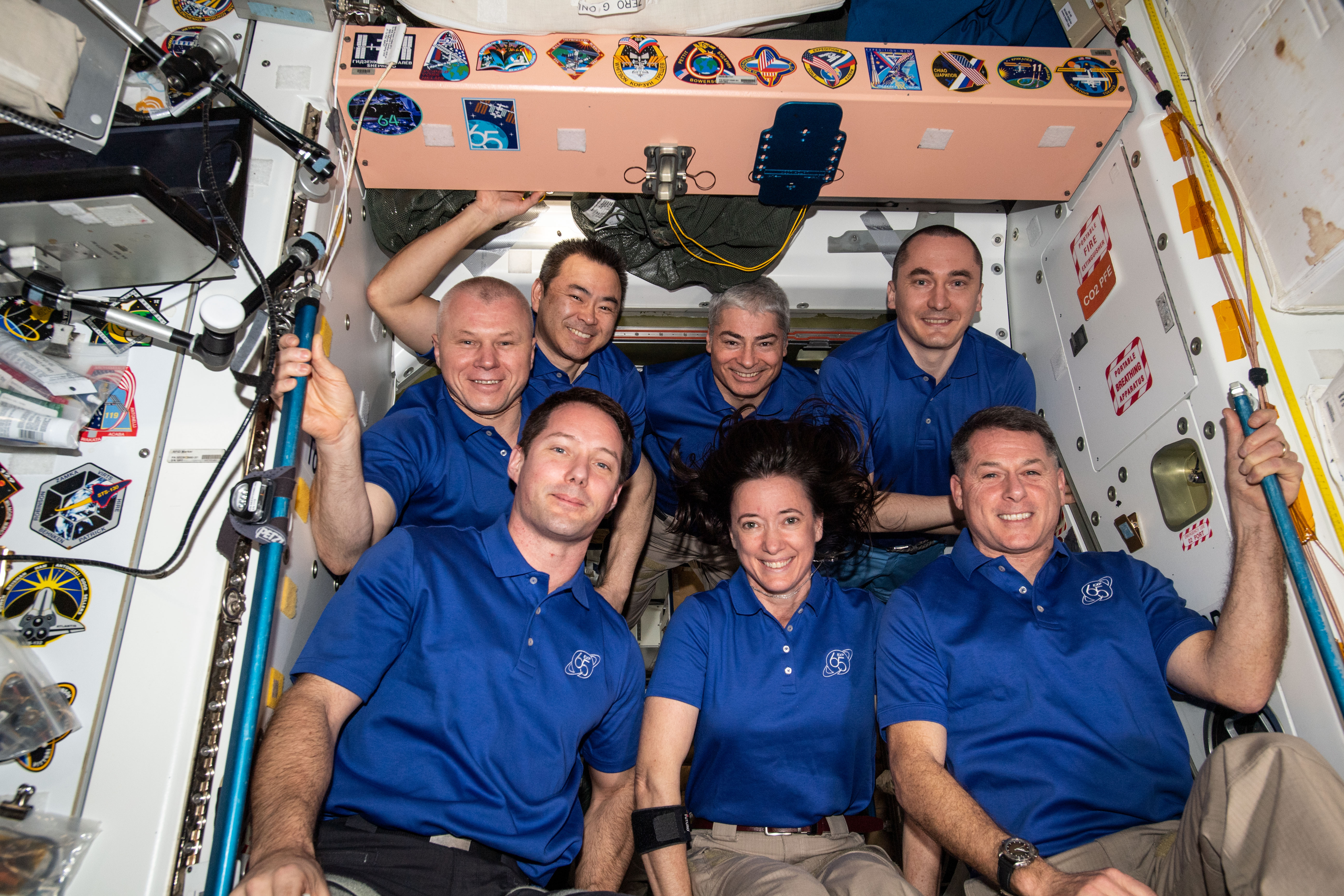 Smile! You're on the International Space Station
