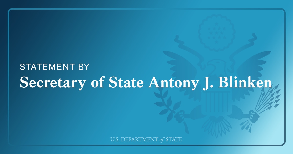 The United States Condemns Actions Against Sudan's Civilian-led Transitional Government
