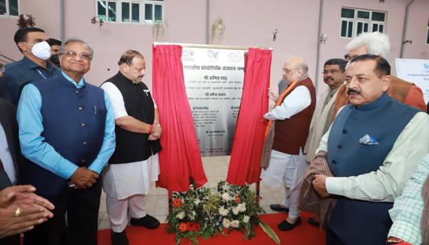 Union Minister of Home Affairs and Minister of Cooperation Shri Amit Shah inaugurated and laid foundation stone of various development projects in Jammu on 2ndday of his visit to Jammu & Kashmir today
