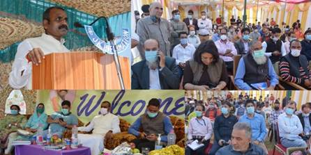 Union Minister of State Dr. L. Murugan visits Shopian district